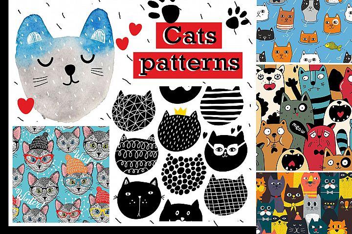 Six amazing cat patterns