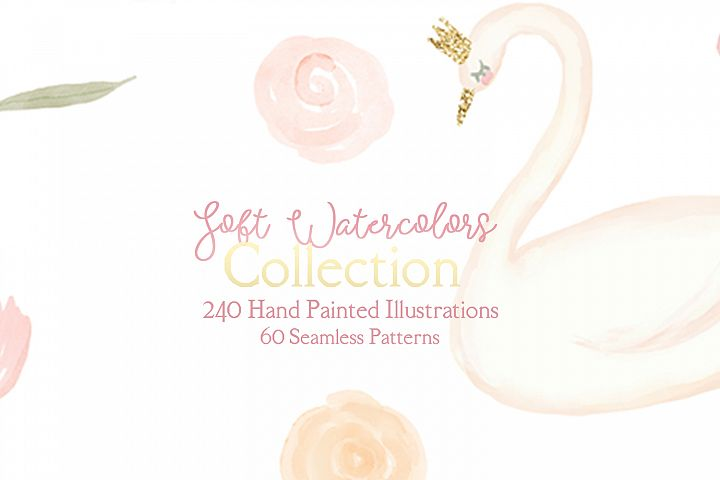 Nursery Soft Watercolors Collection