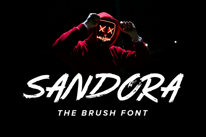 SANDORA BRUSH FONT
