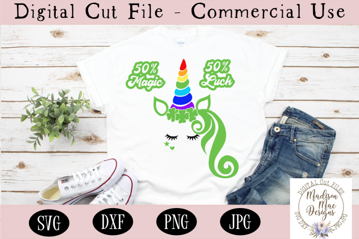Saint Patricks Day Unicorn SVG, Saint Patricks Day SVG
