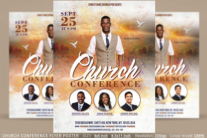Church Conference Flyer Poster