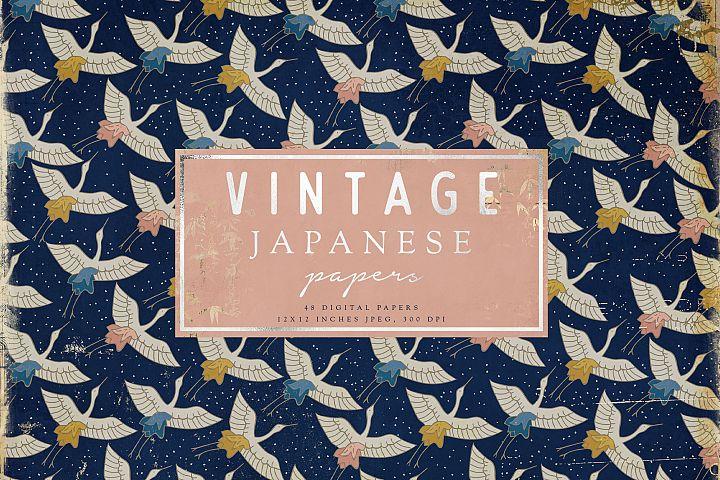 Vintage Japanese Papers