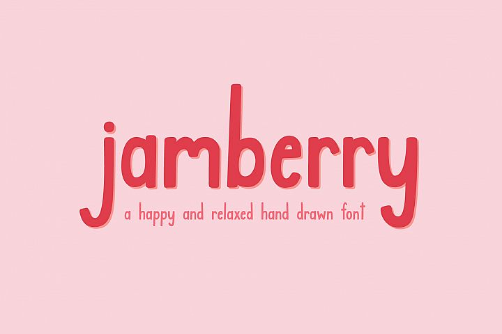 Jamberry Font