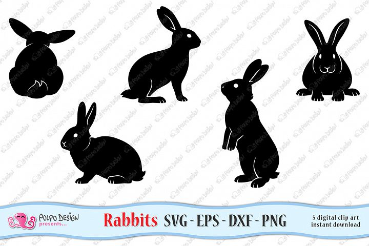 Rabbits SVG