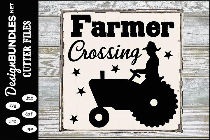 Farmer Crossing SVG