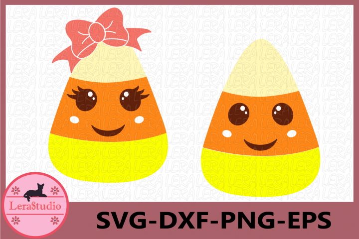 Candy Corn Cutie SVG, Halloween SVG, Candy Corn Clipart