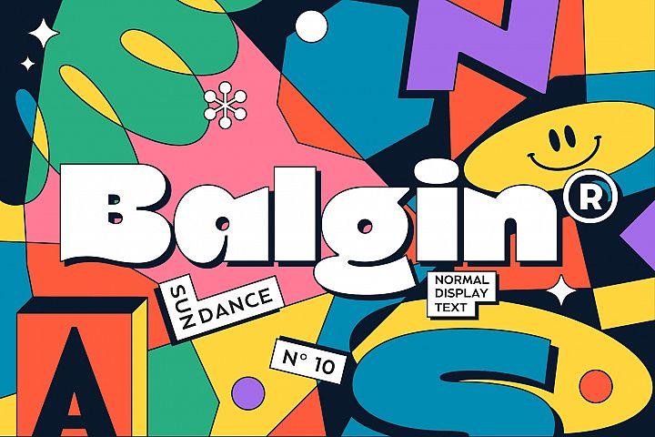 Balgin Font Family