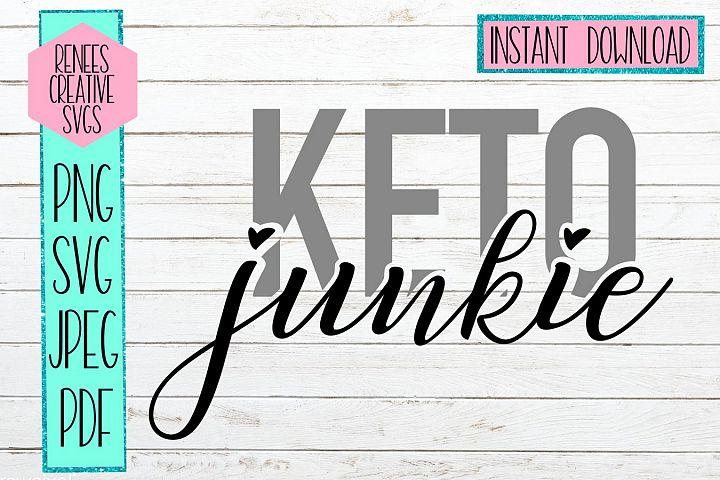 Keto Junkie | Keto diet | SVG Cutting File