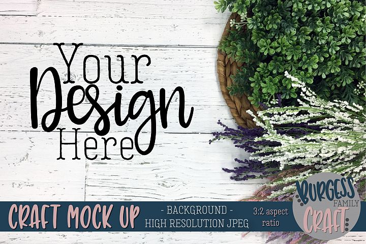 White wood and flower Background Stock photography