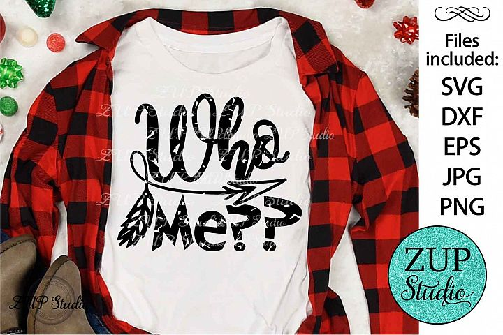 Who me Grunge text SVG Design Cutting Files 293