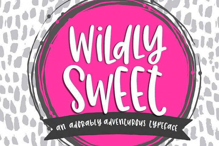 Wildly Sweet Handwritten Font