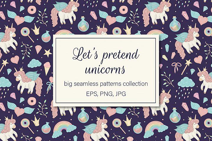 Lets pretend unicorns