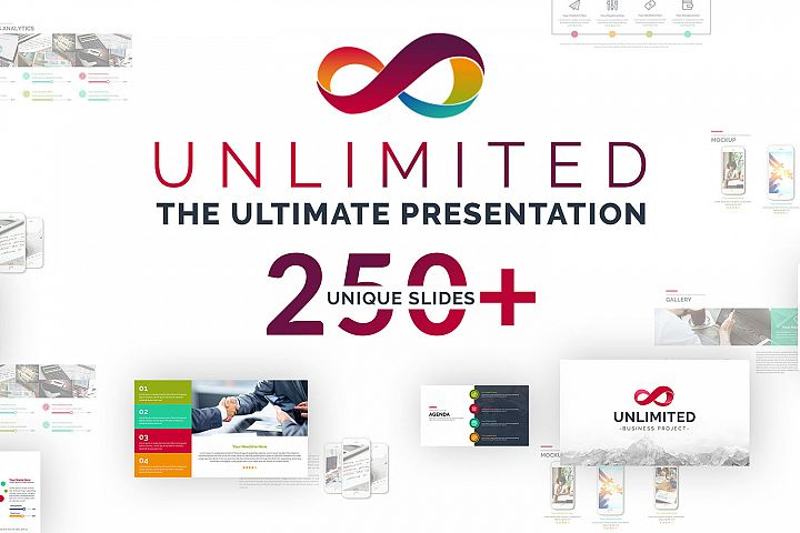 Unlimited Business Project Asset Powerpoint Template