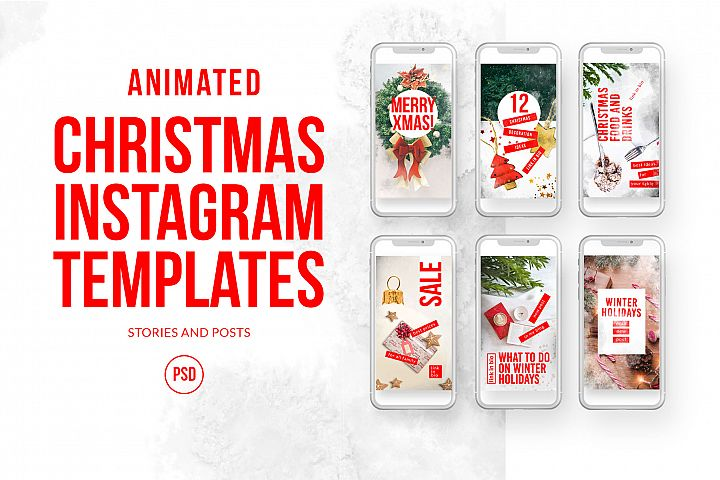 Christmas Animated Instagram KIT
