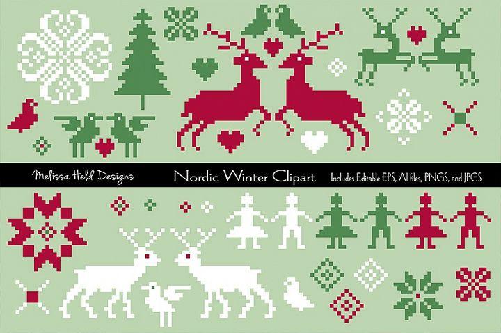 Nordic Winter Clipart