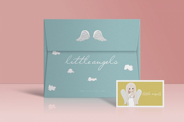 Little angels clipart - Free Design of The Week Design 5