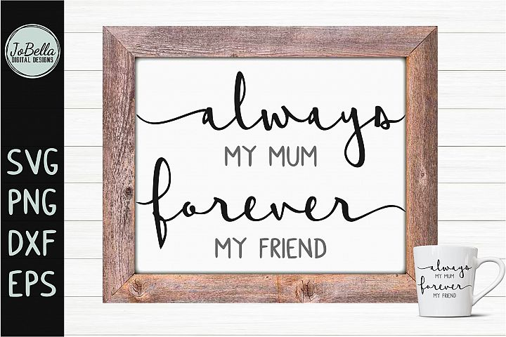 Mum SVG, Sublimation Design and Printable