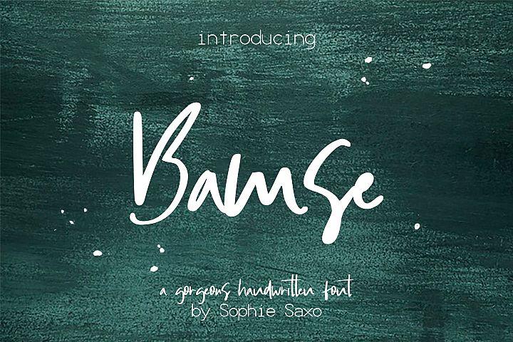 Bamse Font
