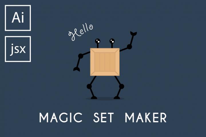 Magic Set Maker Illustrator script
