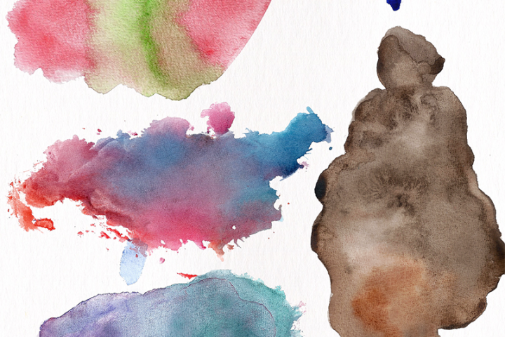 Watercolor Textures - card edition - Free Design of The Week Design 4