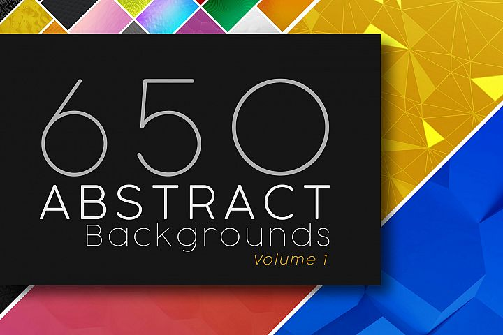 Abstract Backgrounds Volume 1