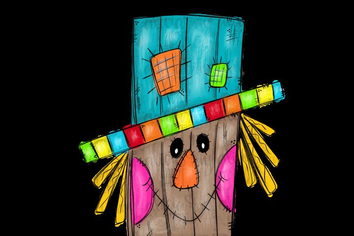 Scarecrowsc Sublimation PNG Digital
