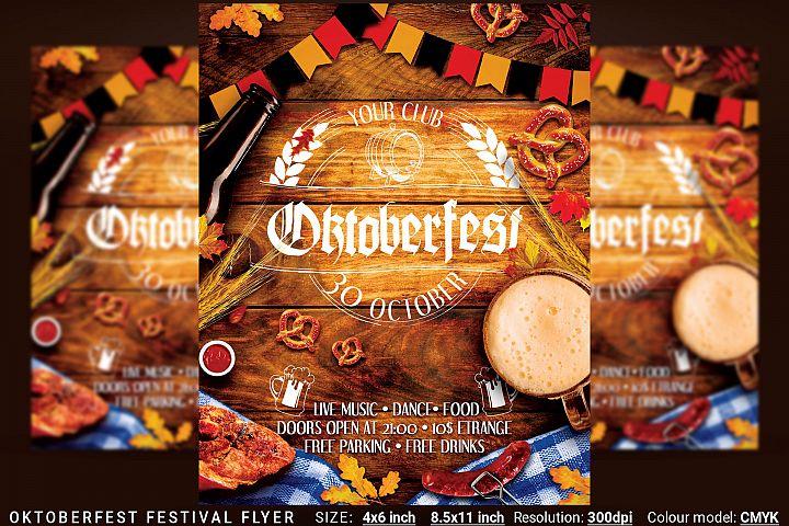 Oktoberfest Octoberfest Festival Flyer