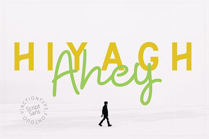Hiyagh Ahey - Couple Fonts