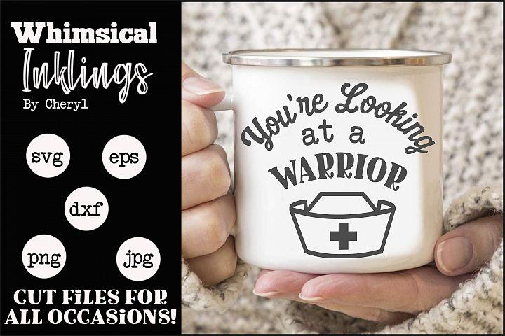 Warrior-Nurse SVG