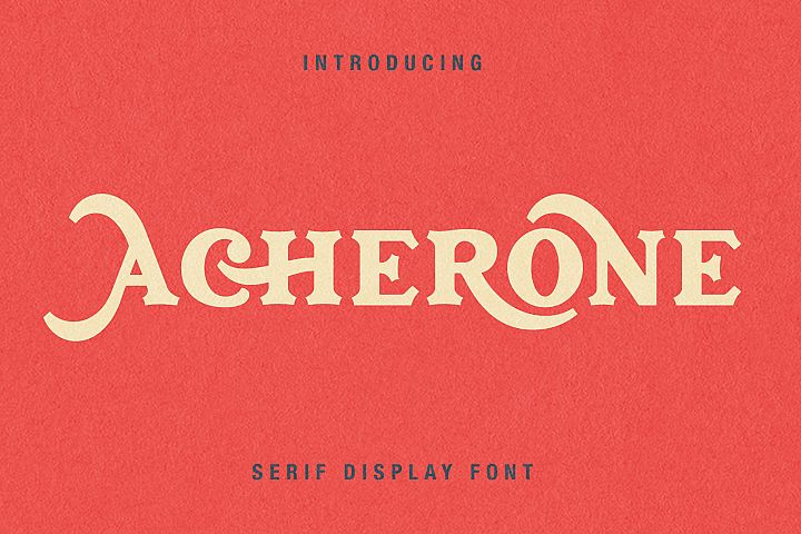 Archerone - Serif Display Font