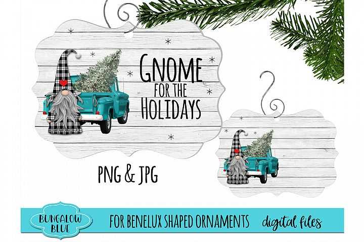 Gnome for the Holidays Benelux Ornament Design Download