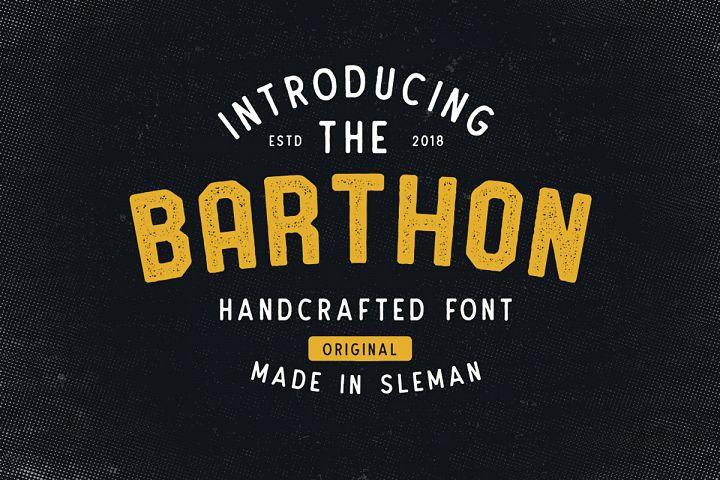 Barthon Typeface Combo (7Fonts)!