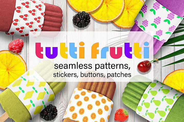Tutti Frutti | Patterns and more