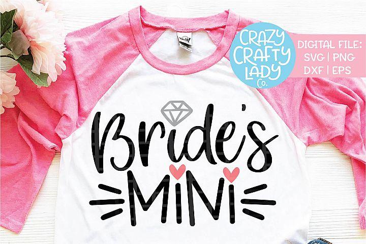 Brides Mini Wedding SVG DXF EPS PNG Cut File