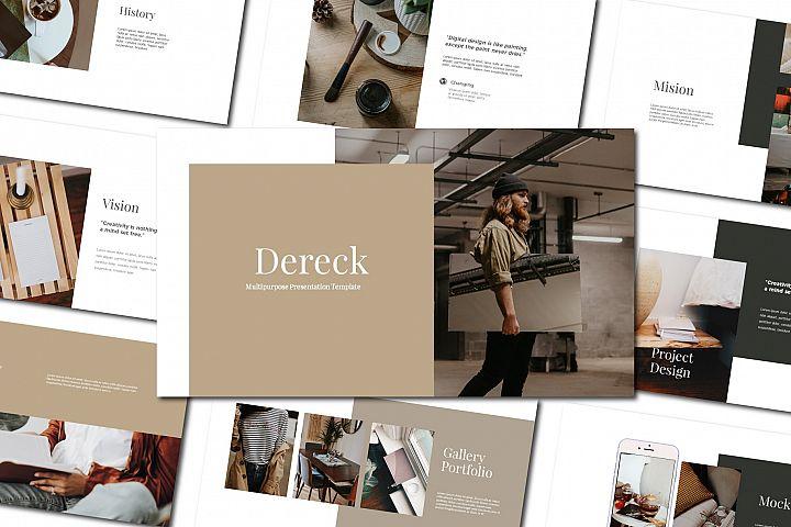 Dereck - Keynote Template