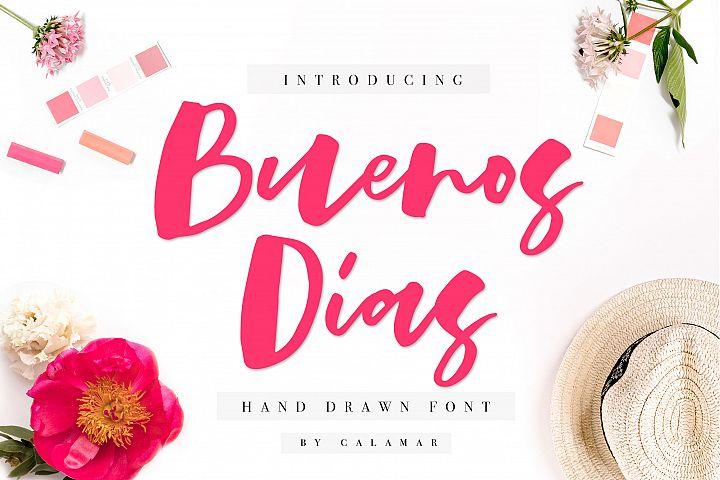 Buenos Dias Font + Extras