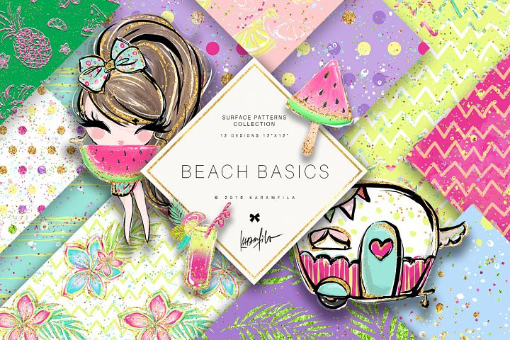 Beach Basic Patterns