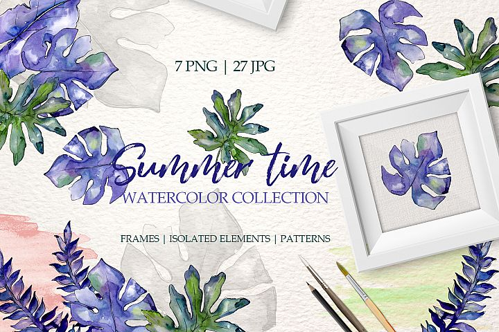 Summertime Watercolor png
