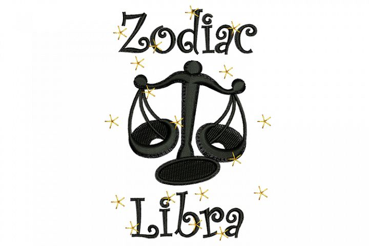 Libra machine embroidery designs