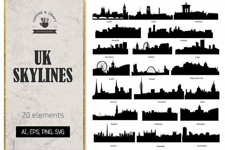 The United Kingdom skylines