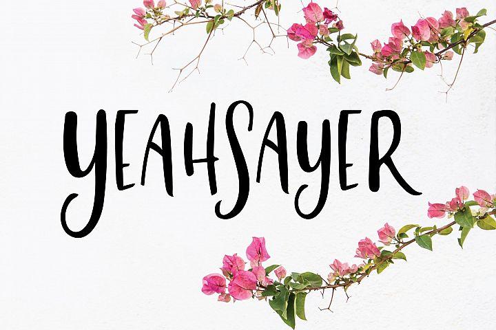 Yeahsayer | Bohemian Sans Seif