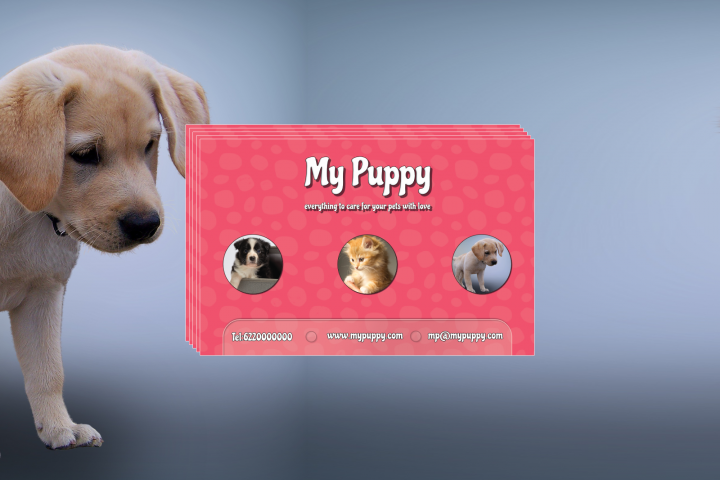Animal Lovers Care Business Card Template