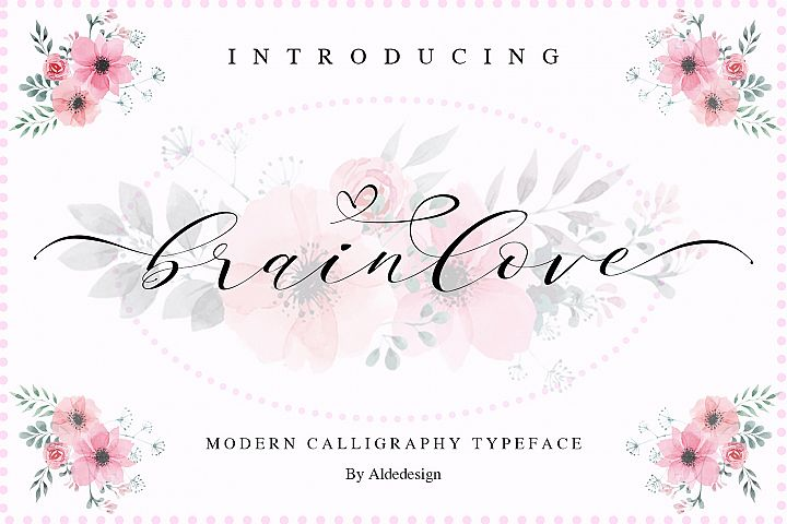 Brainlove - Beautiful Script
