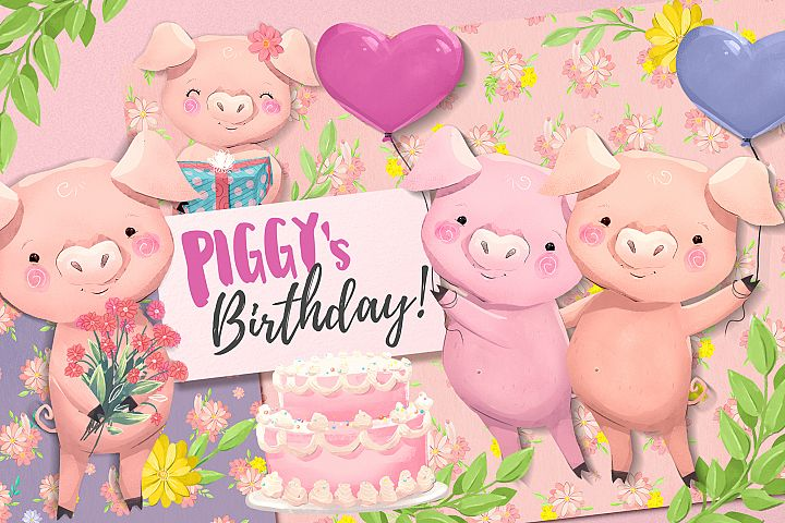 PIGGYs birthday
