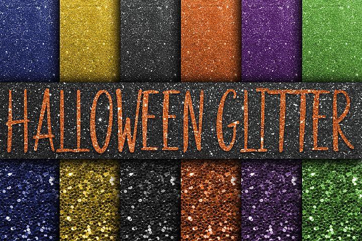 9a363a25a06b Halloween Glitter Digital Paper Textures