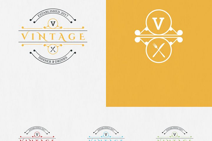 10 Vintage Logo Designs example 6