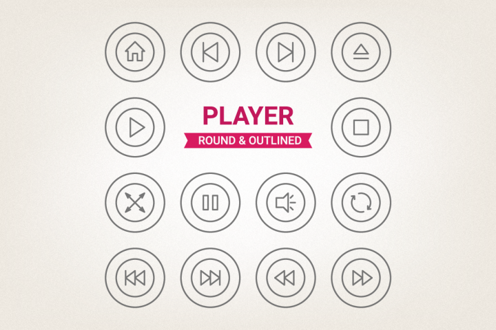 Circle Player Icons