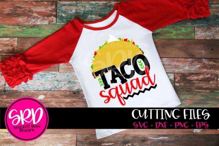 Taco Squad SVG