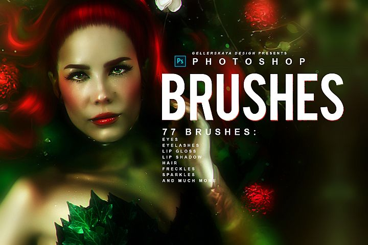 Photoshop Makeup Brushes #2