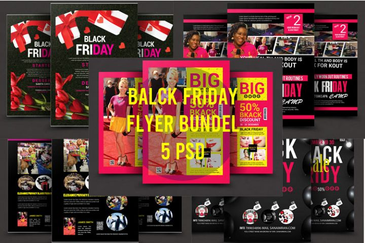 Black Friday Bundle 5 psd